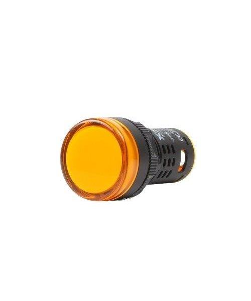 AD22 24V, Indication Lamp, 24VDC, 22 mm Dim., Color Yellow
