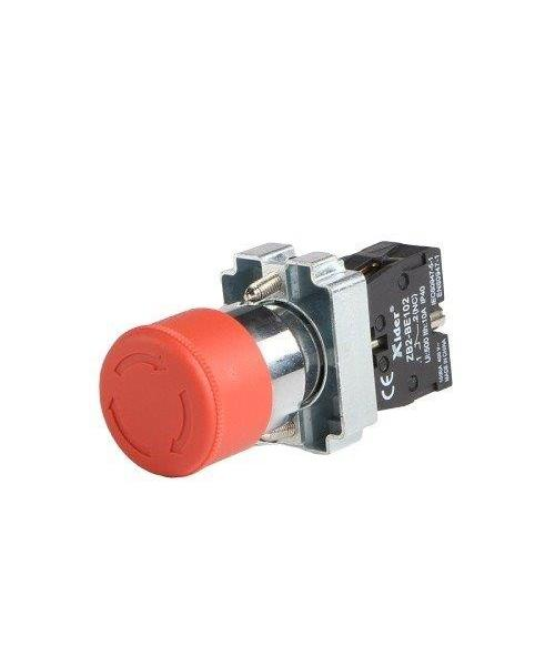 DB2-BS542, Emergency Stop Button, 22 mm Dim.