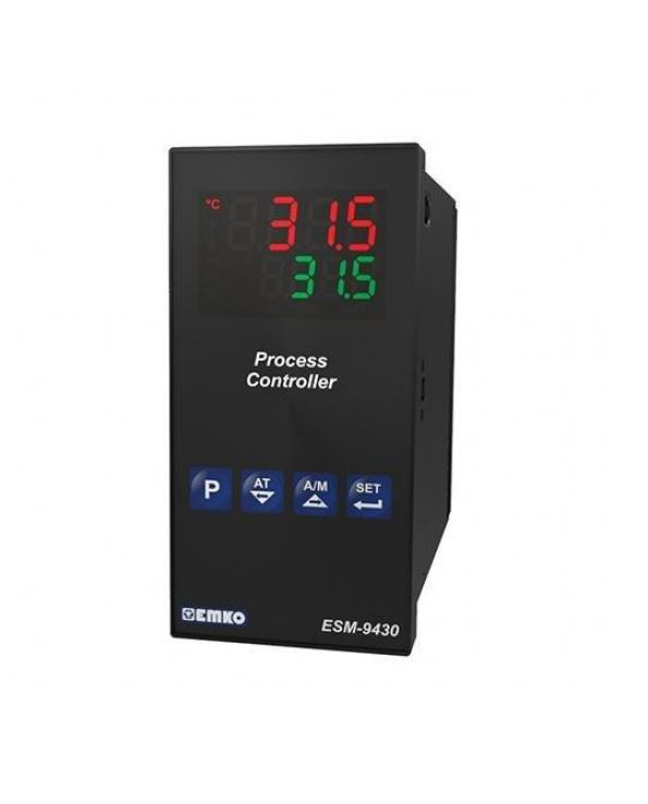 ESM-9430, Process Controller, 100-240VAC Supply, Universal Input, 2 Relays & 1 SSR Output, PID, Dimensions 96x48 mm