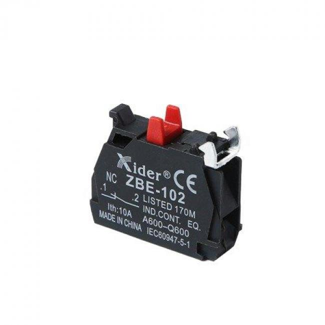 ZB, Contact Block for selector switch, Contact NC